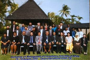 Workshop on Management Consulting Activities of NPOS Fiji